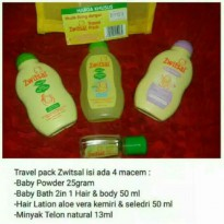 Zwitsal Travel Pack