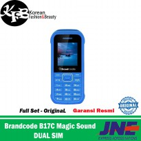 Hp murah Brandcode B17c Magic Sound Outdoor Candybar Camera Dual Sim