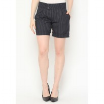 Mobile Power Ladies Stripe Short Pants Ribbon - Dark Blue AG30070