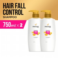 Pantene Sampo Hair Fall Control 750ml - Paket Isi 2