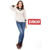 Logo Jeans - Kerry Cream Long Sleeves Shirt