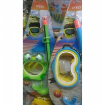 [Best Seller] kacamata snorkeling INTEX anak renang mask set