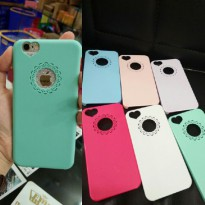 CASE COLOURFULL MACARON IPHONE 5 5S 5G 6 6S HARD BACK CASE WARNA WARNI