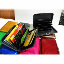 Dompet Kartu / Credit Card Holder - Anti Air Muat 12 Kartu