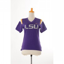 Nike Women's LSU Tigers Fans Short Sleeve