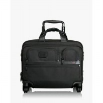 TUMI 4 Wheel Deluxe Brief with Laptop Case #022627D2