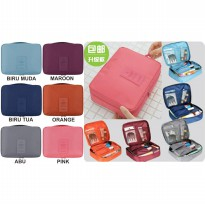 305 Travel bag Tas kosmetik Travelling organizer Tas multifungsi