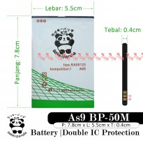 Baterai Aldo As9 As 9 As-9 BP-50M Double IC Protection