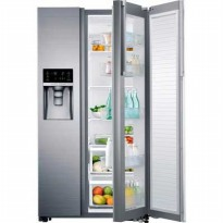 SAMSUNG Side By Side RH57H8030 398 LTR TWIN THERMOSTAT REFRIGERATOR WITH FOOD SHOWCASE AND DISPENSER