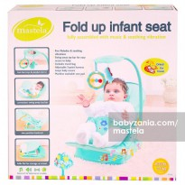 Mastela Fold Up Infant Seat - Green
