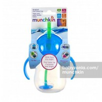 Munchkin Weighted Flexi Straw Cup 7oz - Blue