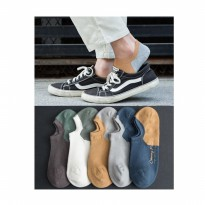 KK022 Kaos Kaki Pendek Pria Casual Sytle For Young Man Socks