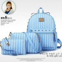 Tas Backpack 3 in 1 Salur blue