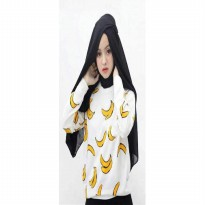 JO & NIC FRUITTY Sweater Wanita Banana - Sweater PISANG AllSize