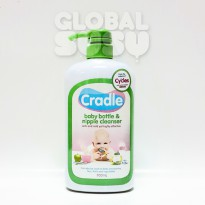 CRADLE BABY BOTTLE & NIPPLE CLEANSER 700ML