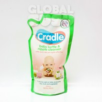 CRADLE BABY BOTTLE & NIPPLE CLEANSER REFFIL 500ML