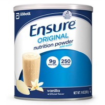 [poledit] Ensure Nutrition Powder, Vanilla, 14-Ounce, 2 Count, 14 Servings (Packaging May /12377650
