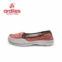 Neox by  Ardiles Women Candelle Sepatu Slip On Merah