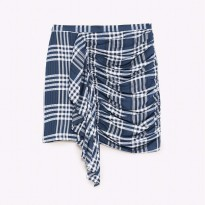 original zara mini checkered skirt