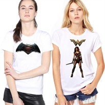 HOT ITEM!! KAOS JUSTICE LEAGUE !! KAOS SUPER HERO / WOMEN T-SHIRT