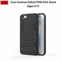 Case Oppo A71 Ironman Hybrid with Kickstand