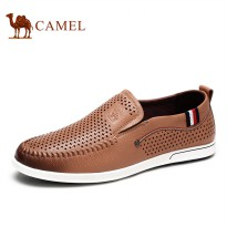 Camel carrefour shoes genuine leather breathable mens casual leather shoes spring male shoes A622266380