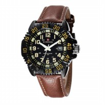 Naviforce Jam Tangan Pria NF9041 Leather Original