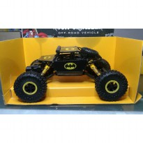 NEW HEROCAR Batman Offroad 4WD 2.4G Skala 1:18 RC Rock Crawler JD TOYS