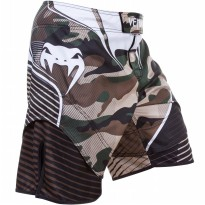VENUM CAMO HERO FIGHT SHORTS GREEN/BROWN CELANA MMA OLAHRAGA GYM BODY COMBAT