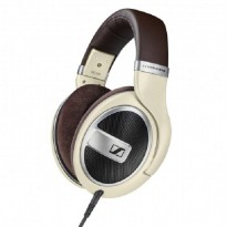 Sennheiser Around Ear Open Headphone with Inline Mic HD 599 - Ivory Kabel