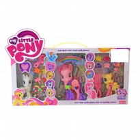 Mainan Anak Perempuan Figure Little Pony Isi 3