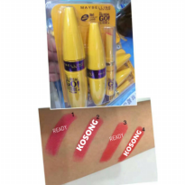 [ 3 in 1 ] Lipstick Colossal maybeline 3 in 1