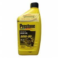 Prestone Synthetic Gear Oil 80W-90 GL-5 - Oli Transmisi Manual Mobil Original