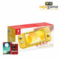 Nintendo Switch Lite Console Yellow + 2 Games
