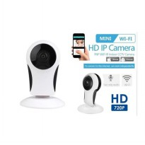 Ip Camera Wifi Smart Camera HD 720p - Camera Monitoring