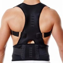 BACK SUPPORT KORSET PENYANGGA PUNGGUNG POWER MAGNETIC