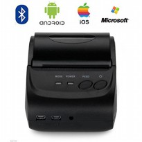 Oryginal Mini Receipt Mobile Printer Android Ios 5802 Black