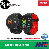smartwatch murah mito gear 10 - original