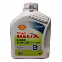Shell Helix ECO SYNTHETIC 0W-20 SEGEL ORIGINAL 1 Liter Pelumas Oli Mobil LCGC
