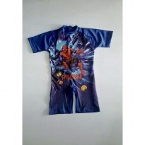 Baju Renang Anak TK/SD Spiderman New