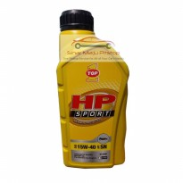 TOP1 HP SPORT SAE 15W-40 API SN 1 Liter - Pelumas Oli Motor 4 Tak Original Made In USA