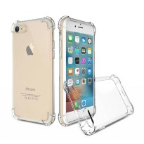 Case Anti Shock / Anti Crack Softcase - Clear - Tipe Lengkap Samsung iPhone Xiaomi Oppo DLL