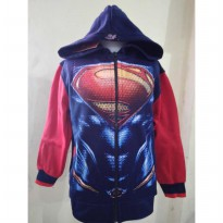 JKKDL41 - Jaket Anak Superman Man Of Steel (UK. XXL)