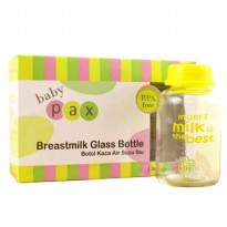 Baby Pax Glass Bottle 3x150ml