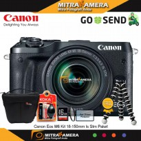 Canon Eos M6 Kit 18-150mm Is Stm Paket