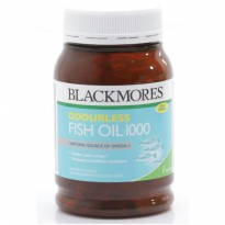 Odourless Fish Oil 1000 Mg | 200 Kapsul -- Blackmores