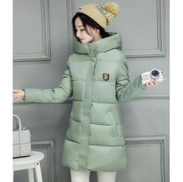 JC904 Green | Jaket winter long coat korea import high quality