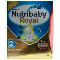 Nutribaby Royal Soya 2 6-12 Bulan 350 Gram