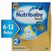 Nutribaby Royal 2 6-12 Bulan Pronutra  400 Gram