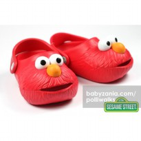 Polliwalks Sandal with Clogs - Elmo